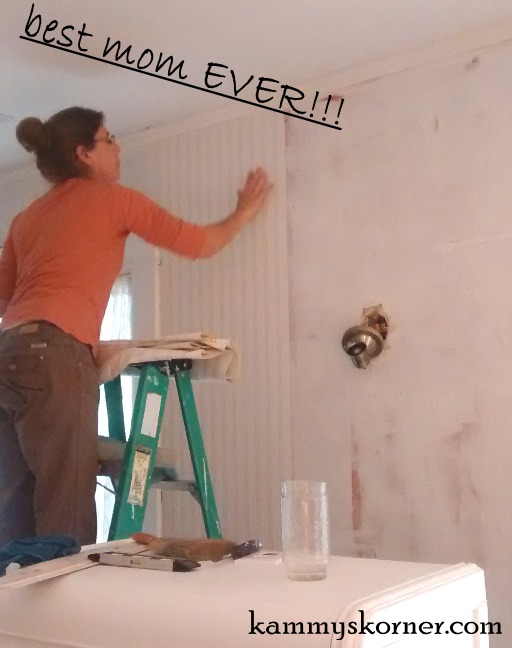 Guest Room Makeover With Beadboard Wallpaper   Hometalk