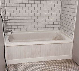 Custom Bathtub Frame, Bathroom Ideas, Home Improvement, How To, Woodworking  Projects