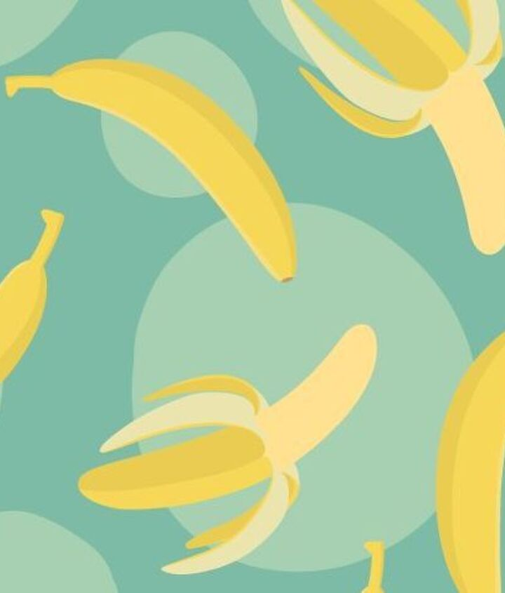 5 home uses for banana peels, cleaning tips, gardening, repurposing upcycling