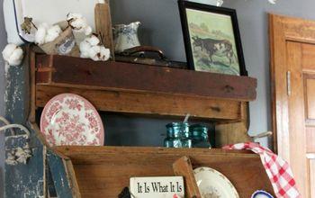 old tool box upcycle, repurposing upcycling, wall decor