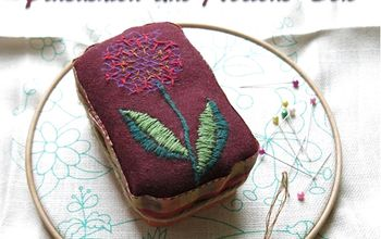 charming pincushion made from repurposed altoids tin, crafts, how to, repurposing upcycling, storage ideas
