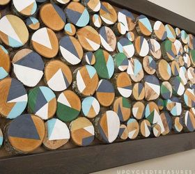 How To Make Custom Wall Art With Wood Slices, Crafts, Wall Decor,  Woodworking