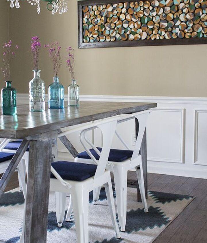 Custom Wall Art With Wood Slices Hometalk