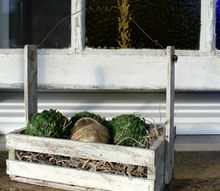give that crate a face lift, crafts, easter decorations, how to, repurposing upcycling, seasonal holiday decor