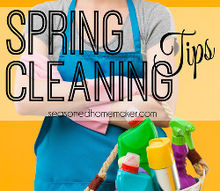spring cleaning tips, cleaning tips