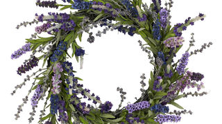 , try a decorative natural wreath for your front door create your own or go to sites like Etsy com to find them