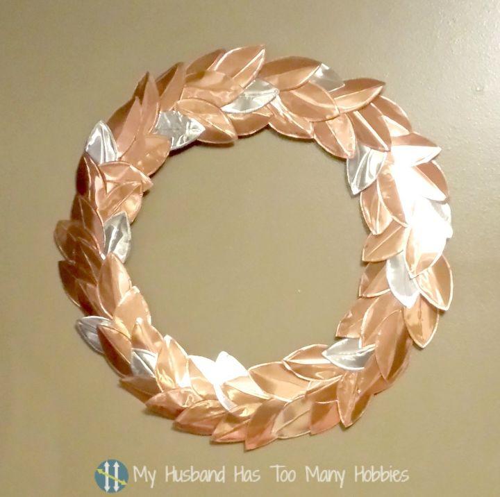 Copper/Aluminium Leaf Wreath for Beautiful Kitchen Decor for Under ...