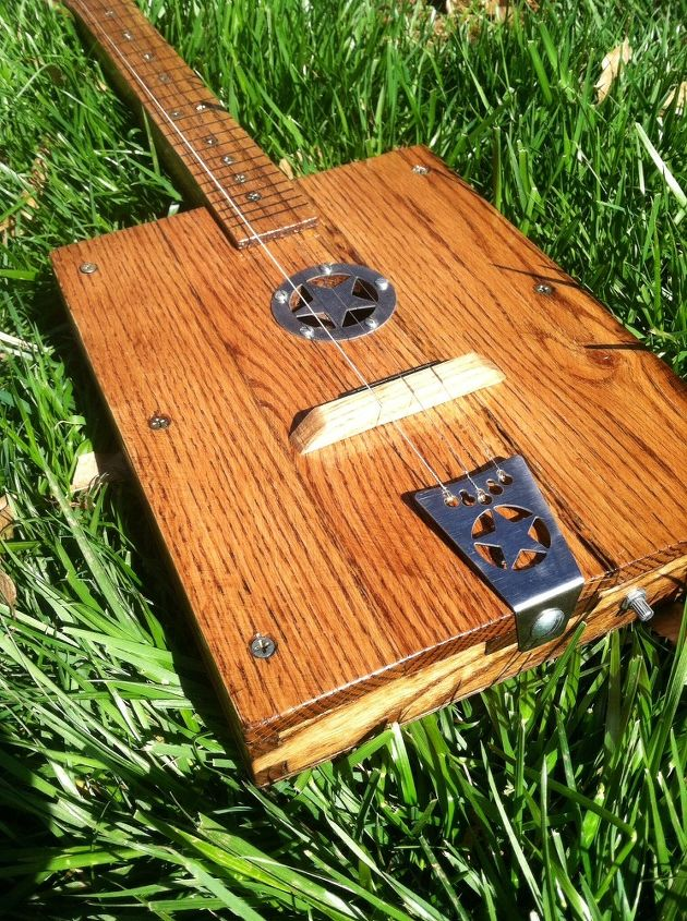 Diy Pallet Wood Guitar Hometalk