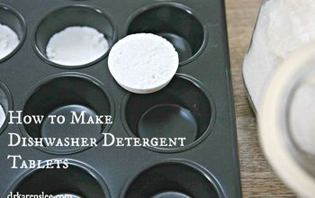 How to Make Non-Toxic Dishwasher Detergent Tablets
