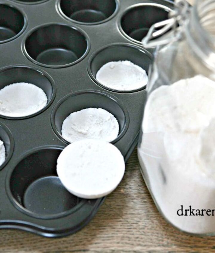 how to make non toxic dishwasher detergent tablets, cleaning tips, how to