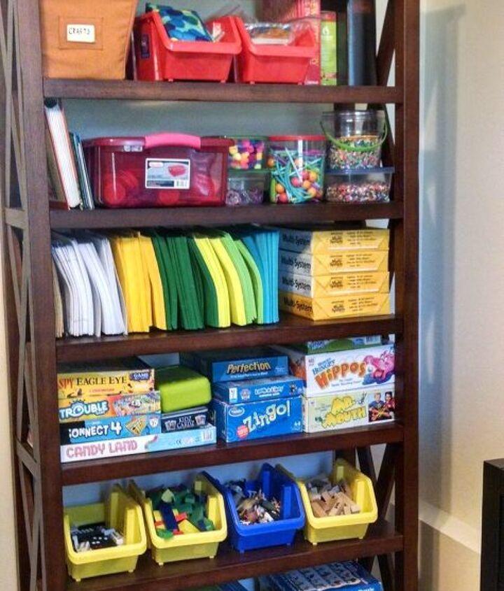 unusual paper organizer, crafts, organizing, repurposing upcycling