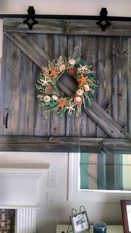 Barn Door TV Cover | Hometalk