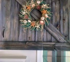 Barn Door Tv Cover, Diy, Doors, How To, Repurposing Upcycling, Wall