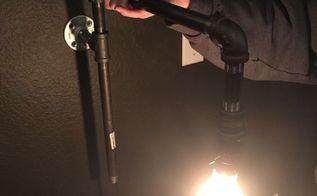diy industrial light fixtures, electrical, how to, lighting