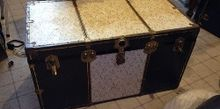 trunk makeover paint haters look away, chalk paint, how to, painted furniture, repurposing upcycling