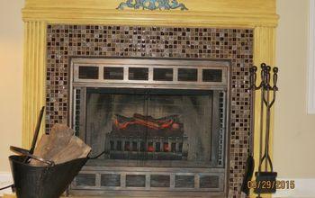 How to Take a Plain Ordinary Fireplace & Make It Look Extraordinary!