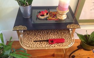 table makeover, painted furniture, repurposing upcycling