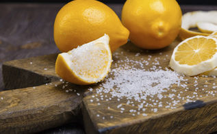 refresh your cutting boards with lemon, cleaning tips, how to