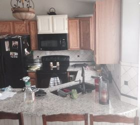 Good My Mom S Kitchen Renovation Is Complete, Kitchen Backsplash, Kitchen  Cabinets, Kitchen Design