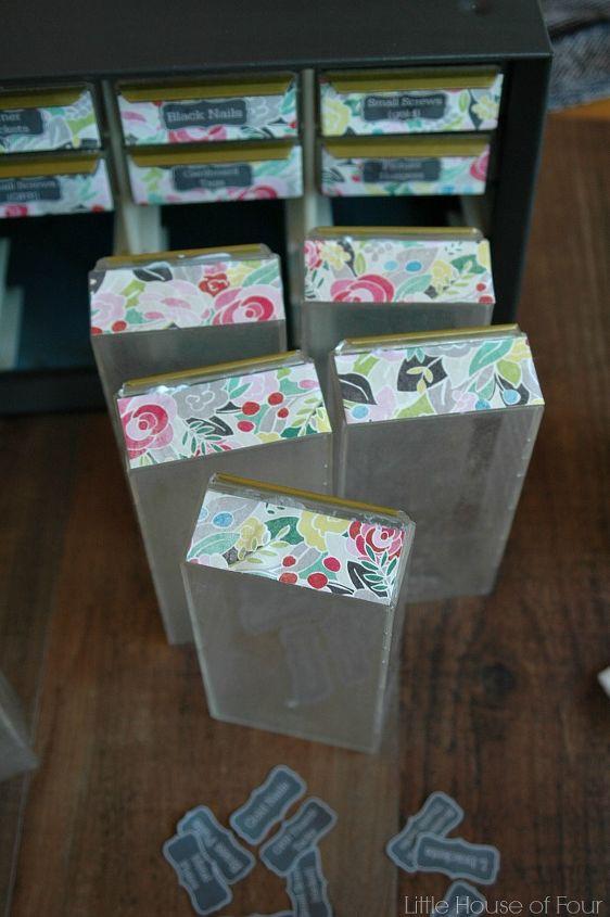 trash to treasure feminine metal storage solution, crafts, how to, organizing, repurposing upcycling, storage ideas