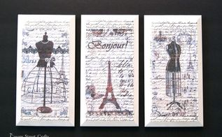 how to transfer graphics with mod podge, chalk paint, crafts, decoupage, how to, wall decor