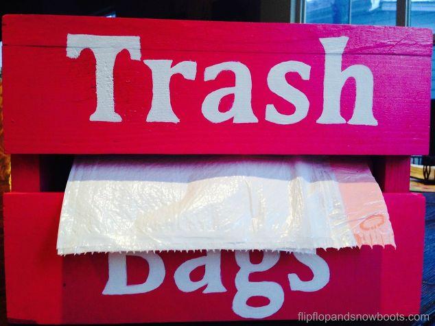 Preferred Kitchen Trash Bag Dispenser | Hometalk TF13