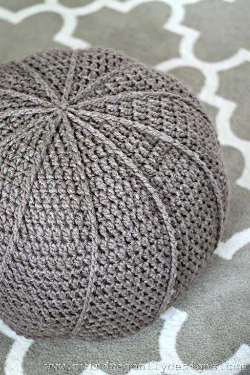 Crochet Floor Pouf Pattern   Hometalk