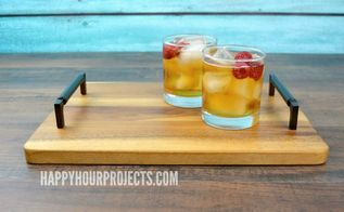 quick easy diy serving tray, crafts, dining room ideas, how to, repurposing upcycling