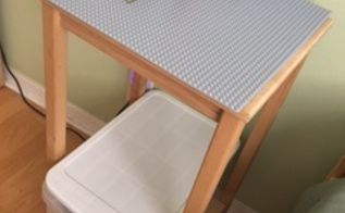 diylego table, painted furniture, repurposing upcycling