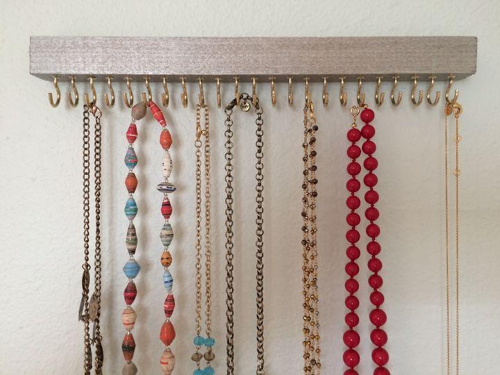 diy jewelry holder hometalk. Black Bedroom Furniture Sets. Home Design Ideas