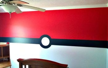 Boys Pokemon Bedroom Paint Job