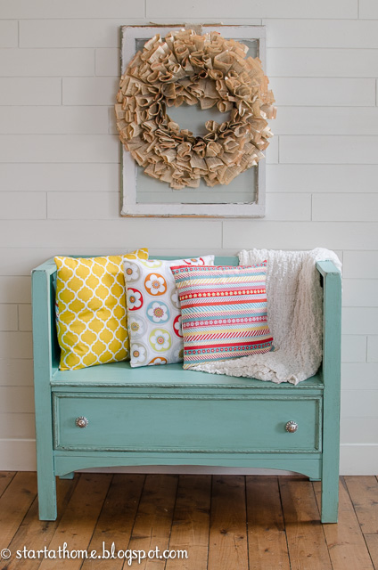 diy dresser turned bench, outdoor furniture, painted furniture, repurposing upcycling