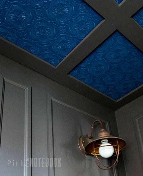 Bathroom Art Ceiling: Textured Coloured Ceilings In The Bathroom