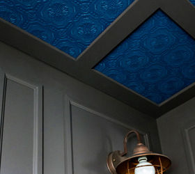 Add Excitement With Textured Coloured Ceilings, Bathroom Ideas, Diy, How  To, Wall