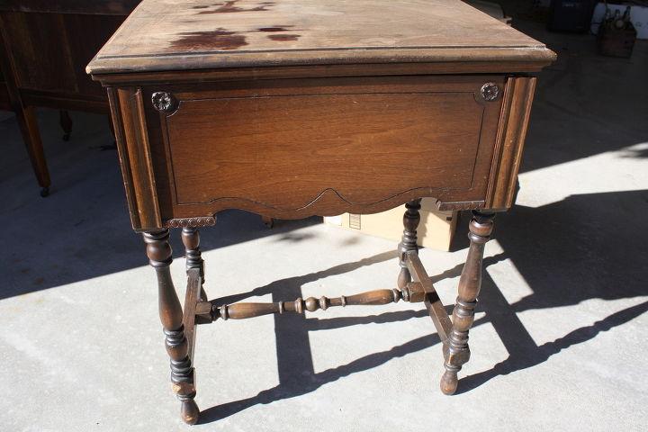 Repurposed Antique Sewing Cabinet Hometalk