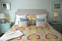 diy belgrave headboard, bedroom ideas, how to, reupholster