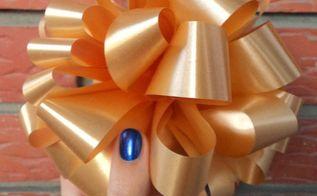 diy pom pom bow, crafts, how to
