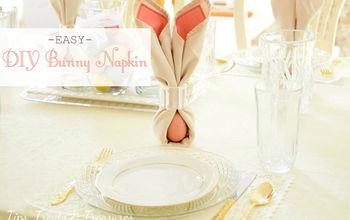DIY Bunny Napkins
