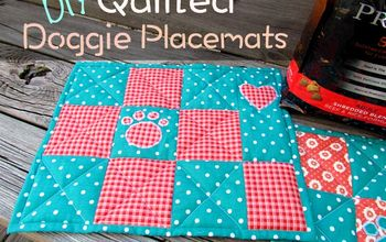 Quilted Doggie Placements- Free Pattern!