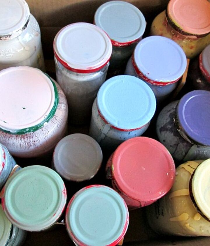 repurpose egg cartons into portable paint palettes, crafts, repurposing upcycling