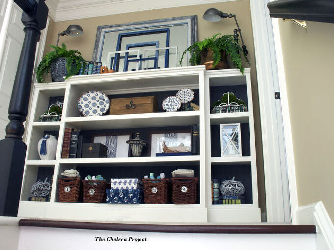 how to build a bookcase to fit your space, diy, how to, organizing, painted furniture, repurposing upcycling, shelving ideas, storage ideas, woodworking projects