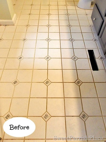 how to make stained grout look brand new, cleaning tips, how to, tile flooring