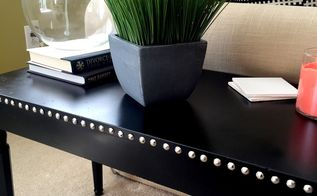 from 8 dingy thrift store piano bench to chic side table, painted furniture, repurposing upcycling