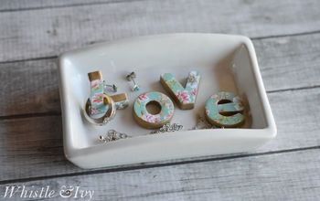 "DIY ""Love"" Trinket Dish"
