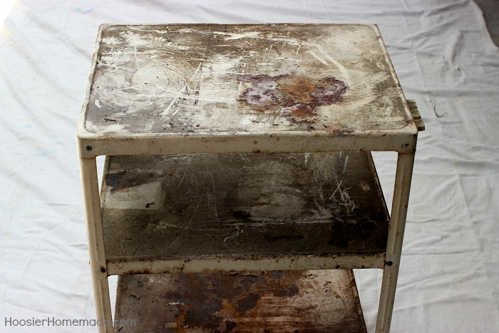 turn a 2 metal cart into a fun beverage cart, cleaning tips, outdoor furniture, outdoor living, painted furniture