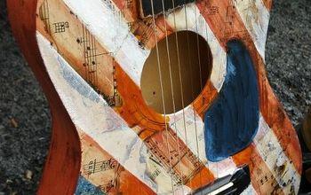 Upcycled Guitar: Americana Style