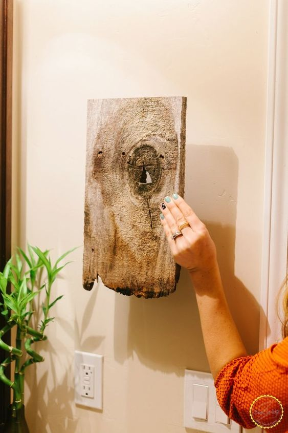 Easy Bathroom Hand Towel Holder Ideas How To Repurposing Upcycling Woodworking