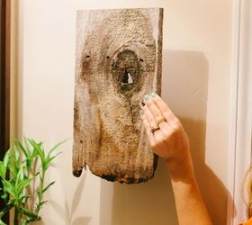 Easy Bathroom Hand Towel Holder, Bathroom Ideas, How To, Repurposing  Upcycling, Woodworking