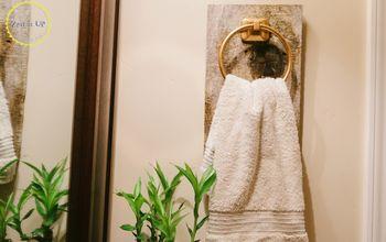 Easy Bathroom Hand Towel Holder