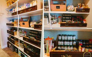 easy pantry make over, closet, kitchen cabinets, organizing, storage ideas